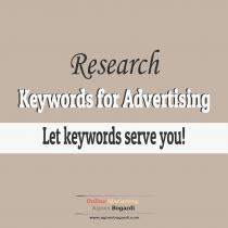 keywords for ads small